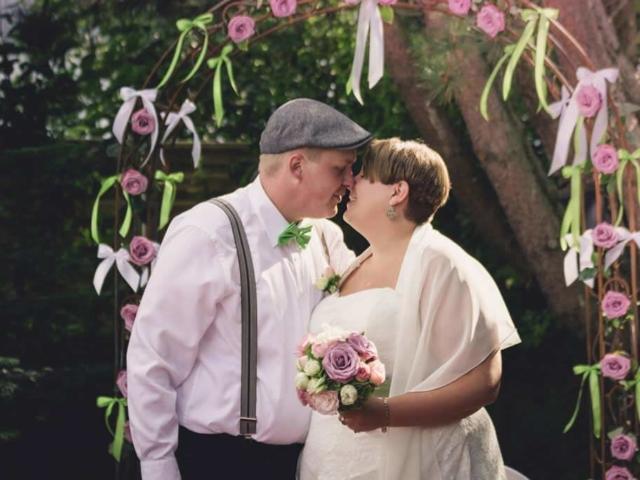 Hochzeitsfotografie in St. Peter-Ording mit Julia und Marten. Foto: Stephan Benz