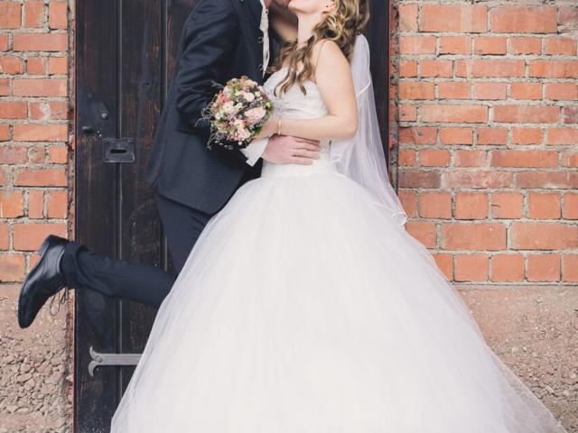 Hochzeitsfotografie mit Annika und Philipp. Foto: Stephan Benz