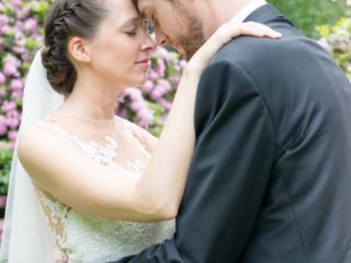 Hochzeitsfotografie in Lich mit Christin und Patrick. Foto: Stephan Benz